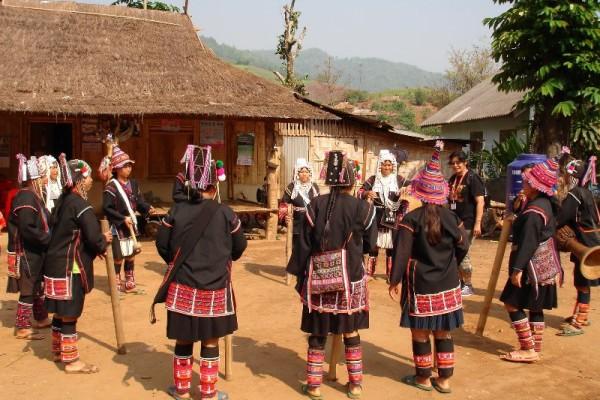 Lisu hill tribe Village, Chiang Mai, Thailand