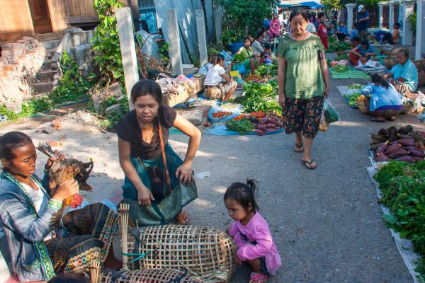 Luang Prabang Morning Market, Luang Prabang, Laos