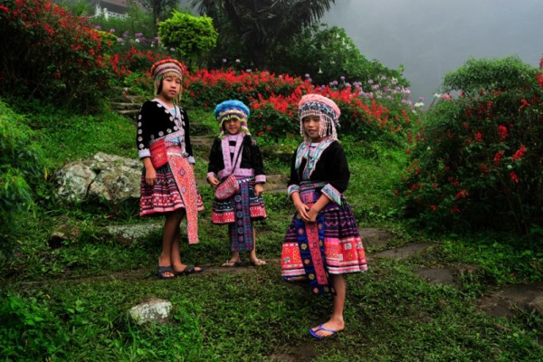 Meo Hill tribe village, Chiang Mai, Thailand