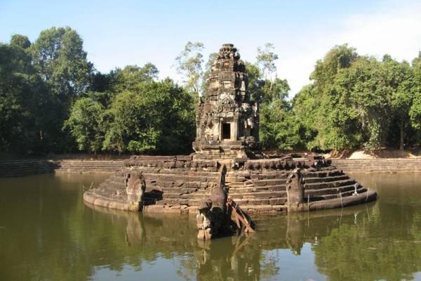 Neak Pean Temple, Siem Reap, Cambodia.