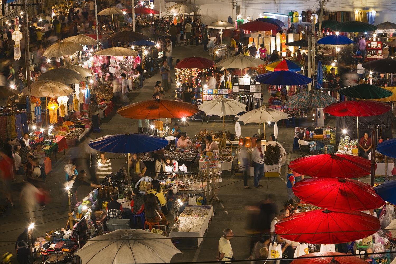 Night Market Travel Guide Tour Chiang Mai