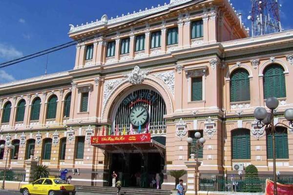 Old Saigon Post Office, Saigon, Travel, Tour