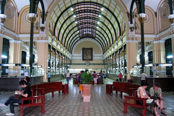 Old Saigon Post Office, Ho Chi Minh City, Saigon