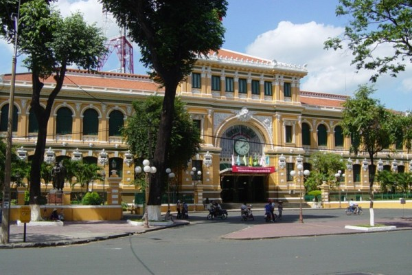 Old Saigon Post Office, Ho Chi Minh City, Vietnam
