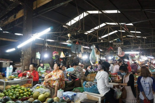 Phsar Chas Old Market, Siem Reap, Cambodia