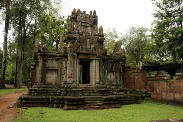 Royal Enclosure Temple, Siem Reap, Cambodia