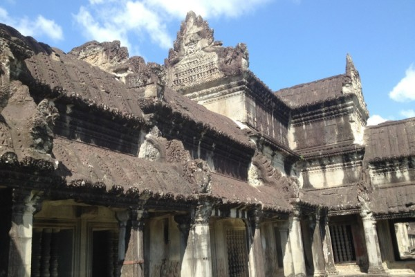 Royal Enclosure Temple, Siem Reap, Cambodia