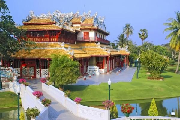 Royal Summer Residence, Ayuthaya, Thailand