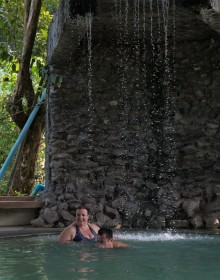 Sankampaeng Hot Springs , Chiang Mai, Thailand