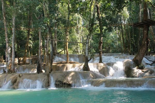 Tad Sae Waterfall, Luang Prabang, Laos