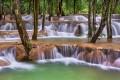 Tad Sae Waterfalls, Luang Pabang, Laos