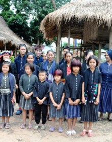 Daily uniform of the locals in Tai Dam Village