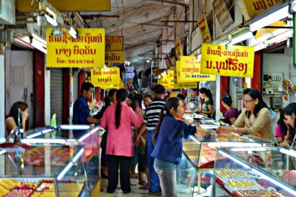 Talat Sao Market, Vientiane, Laos