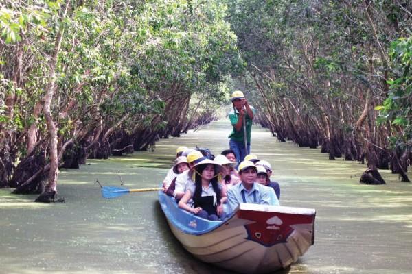 chau doc tour, Tra Su Cajuput Forest, tra su forest
