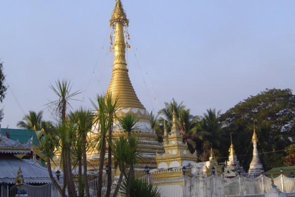 Wat Jong Kham Temple, Mae Hong Son, Thailand
