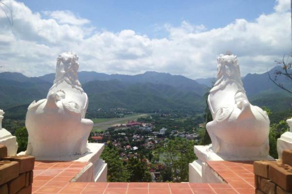 Wat Phra Dhat Doi Kong Moo, Mae Hong Son, Thailand