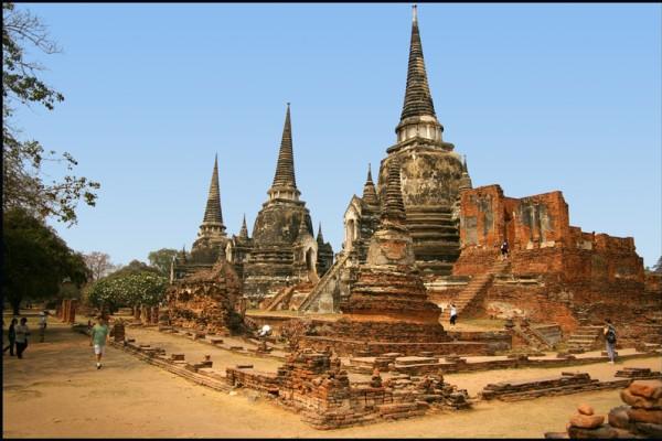 Wat Phra Srisanpetch, Ayuthaya, Thailand
