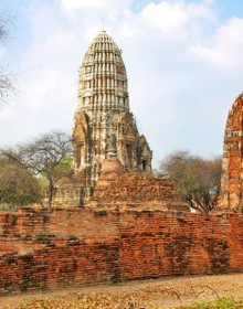 Wat Ratchabura, Ayuthaya, Thailand