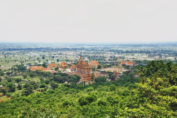 Oudong Mountain, Phnom Penh, Cambodia