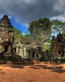 Chau Say Tevoda Temple, Siem Reap, Cambodia