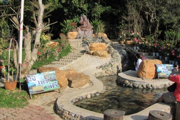 Mae Kajan Hot Spring, Chiang Rai, Thailand