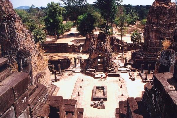 Mebon temple, Siem Reap, Cambodia