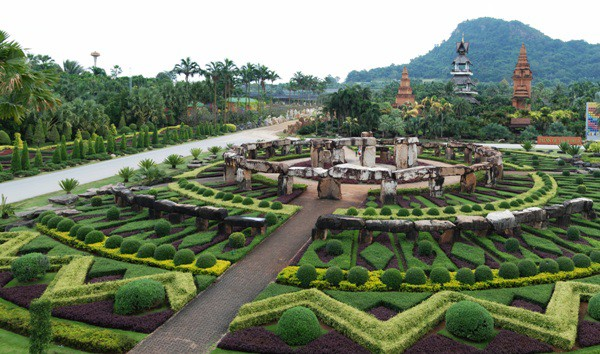 Nong Nooch Village & tropical Garden, Pattaya, Thailand.