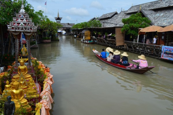 Pattaya Floating Market, Pattaya, Thailand