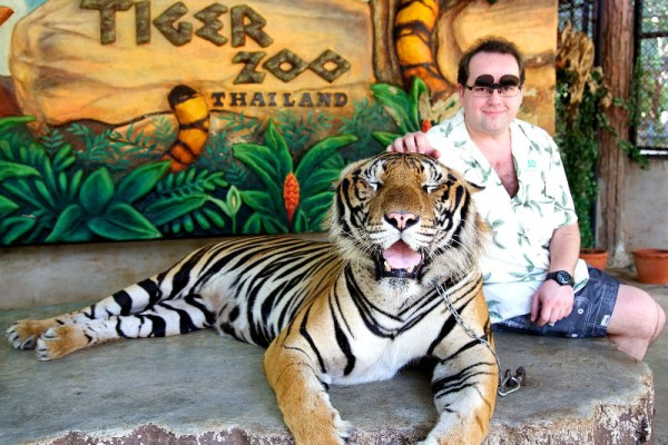 Sriracha Tiger Zoo, Pattaya, Thailand