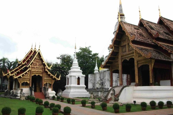 Wat Phra Singh Temple, Chiang Mai, Thailand