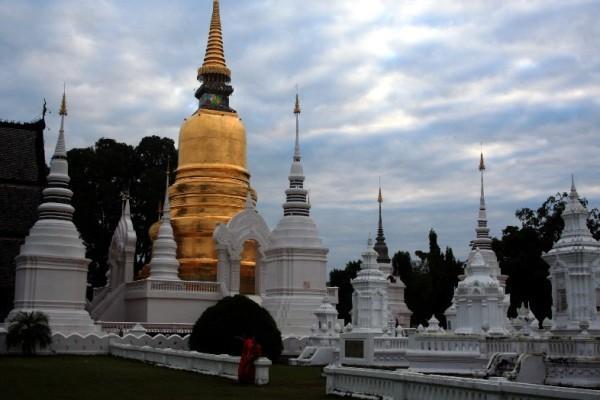 Wat Suan Dok Temple, Chiang Mai, Thailand