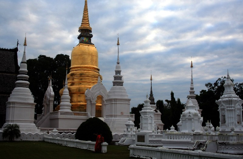 Wat Suan Dok Temple Travel Guidde, Tours, Chiang mai, Thailand