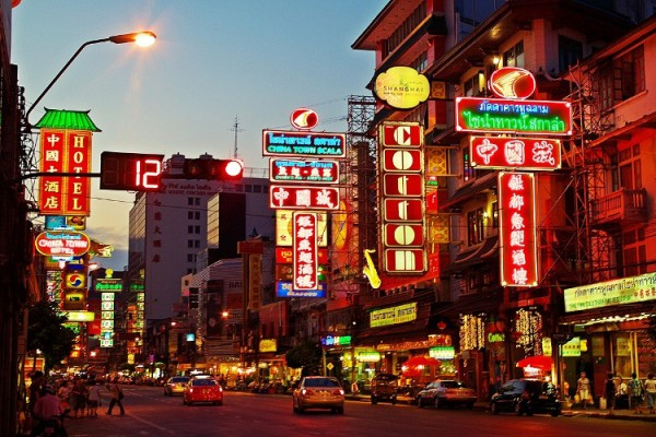 Yaowarat Road, Bangkok, Thailand
