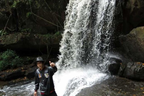 kbal spean waterfall, Siem Reap, Cambodia