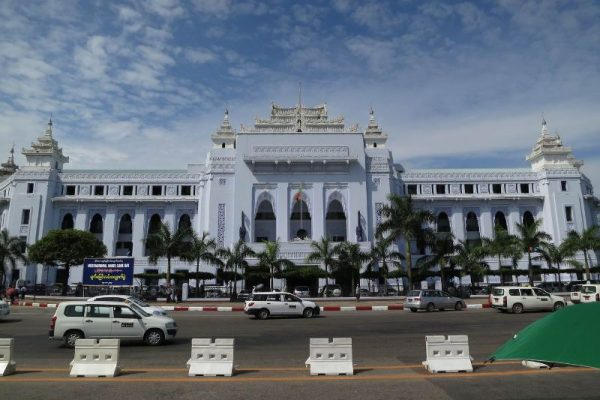 City Hall, Yangon, Myanmar