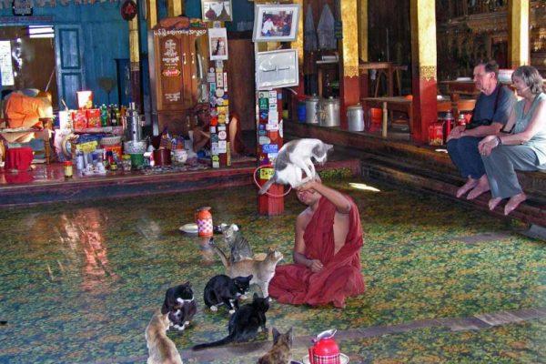 Nga Hpe Chaung Monastery, Inle Lake, Myanmar