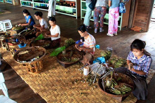 Cherrot Factory, Inle Lake, Myanmar