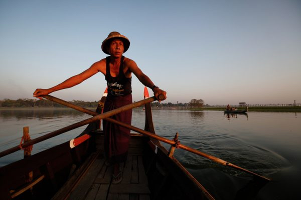 Taungthaman Lake, Myanmar