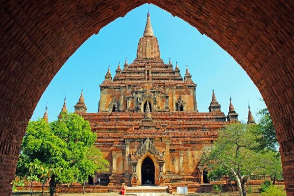 Sulamani temple, Bagan, Myanmar