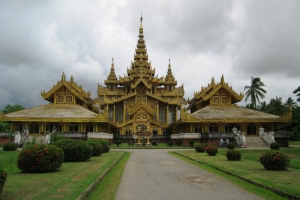 Kanbawzathardi Palace, Bago, Myanmar