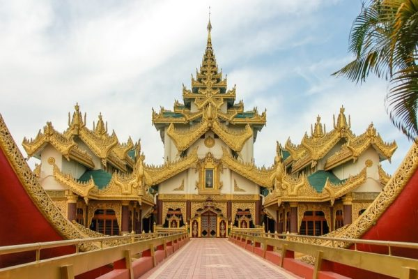 Karaweik Hall, Yangon, Myanmar
