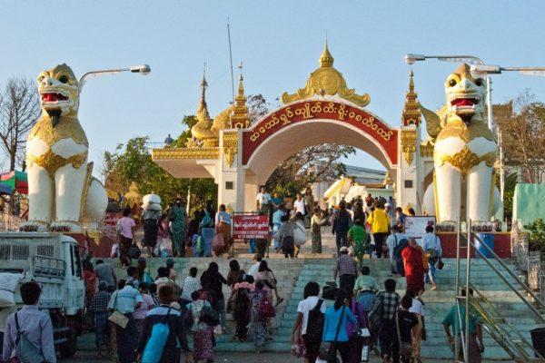 Kyaikhtiyo Pagoda, Kyaikhtiyo, Myanmar