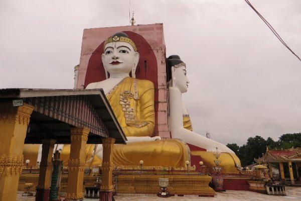 Kyaikpun Pagoda, Bago, Myanmar