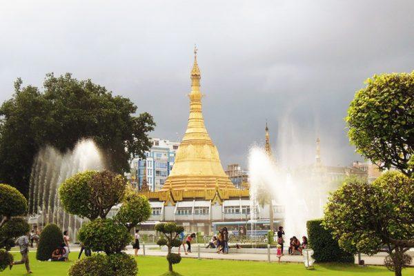 Mahabandoola Park, Yangon, Myanmar