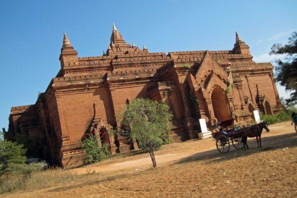 Pyathatgyi Temple, Bagan, Myanmar