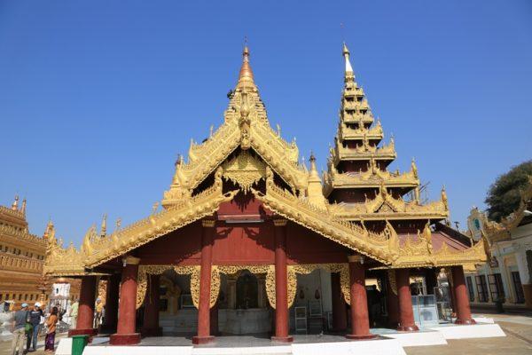Shwezigon Pagoda Travel Guide, Tours, Bagan, Myanmar, Vietnam