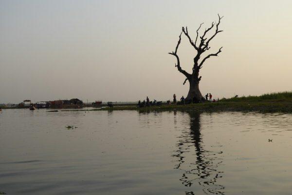 Thaungthaman Lake, Mandalay, Myanmar
