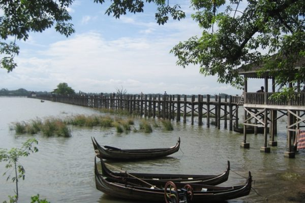 U Being bridge, Mandalay, Myanmar
