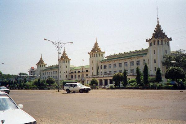 Yangon Central Railway Station, Yangon, Myanmar