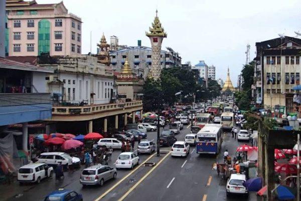 Yangon China Town, Yangon, Myanmar